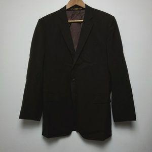 Dolce & Gabbana Men's Black Suit Size 50R